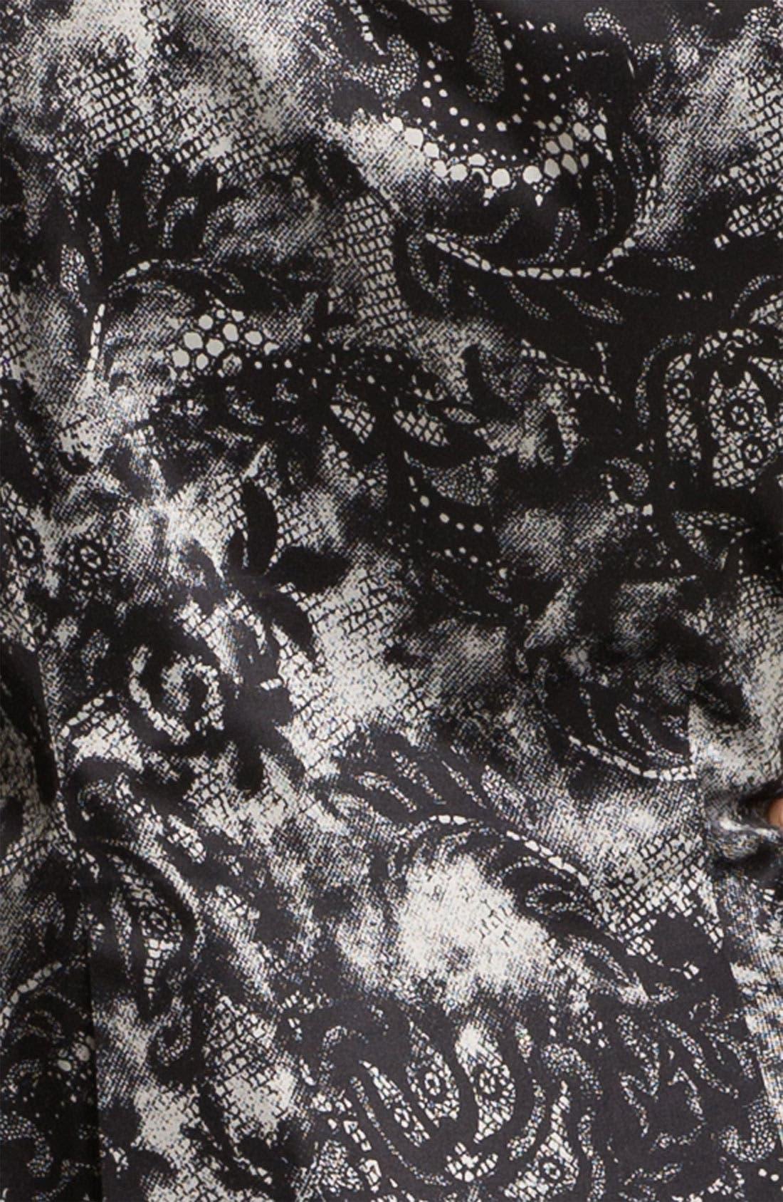 Alternate Image 3  - Bellatrix Lace Print Blazer (Petite)