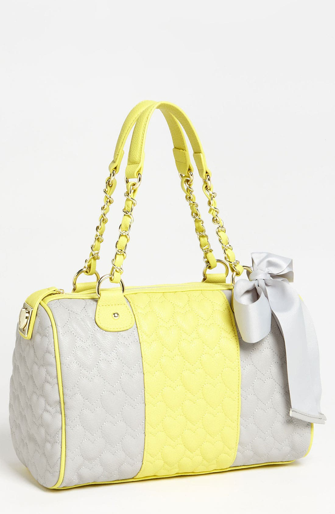 Alternate Image 1 Selected - Betsey Johnson 'Be My One & Only' Satchel