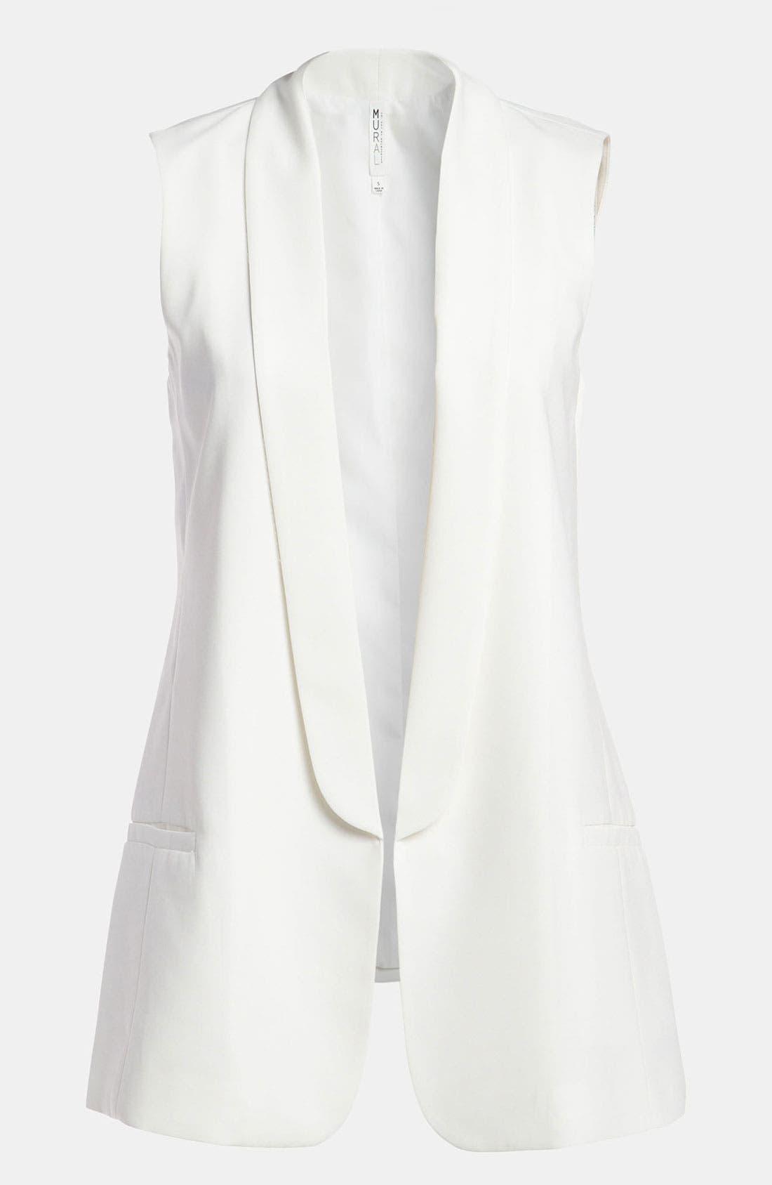 Main Image - Mural Tux Vest