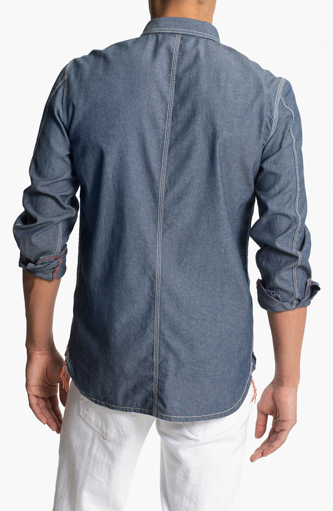 Alternate Image 2  - DIESEL® 'Stepy' Chambray Cotton Shirt