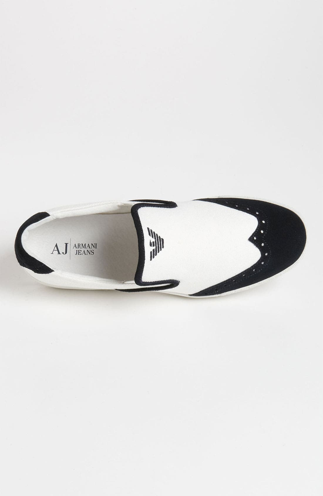 Alternate Image 3  - Armani Jeans Wingtip Slip-On