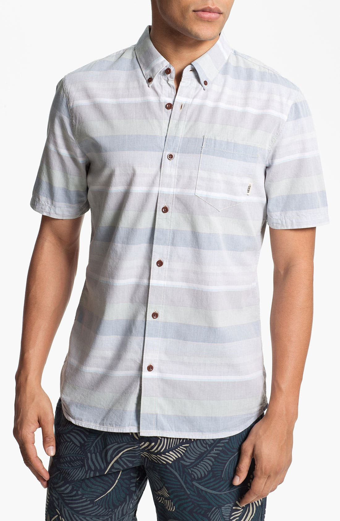 Alternate Image 1 Selected - Vans 'Wareham' Woven Shirt
