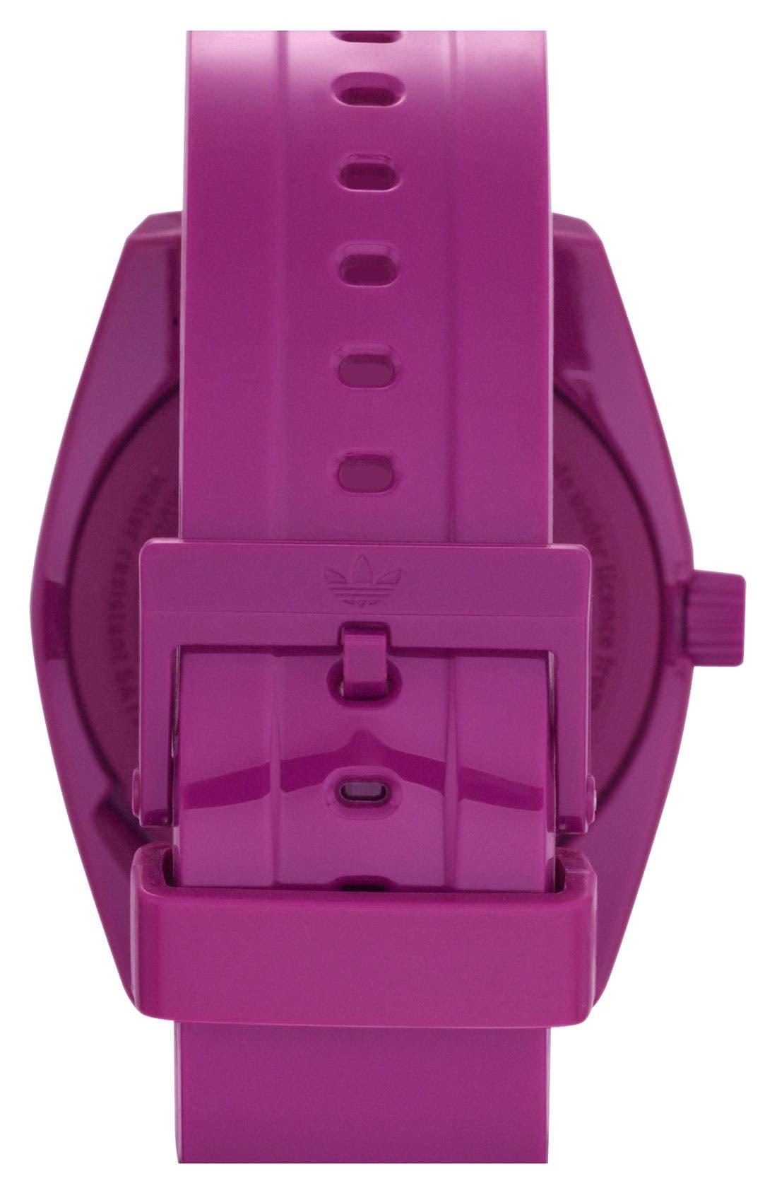 Alternate Image 3  - adidas Originals 'Santiago' Polyurethane Strap Watch