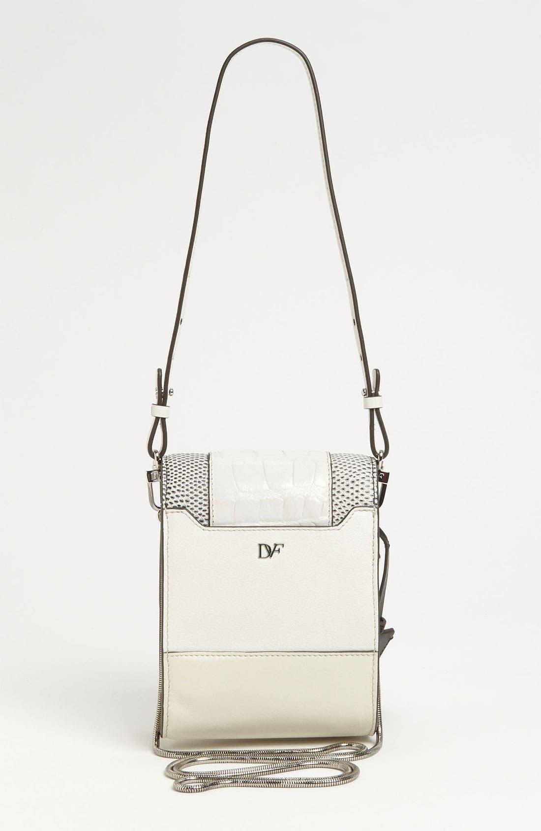 Alternate Image 4  - Diane von Furstenberg 'Parker - Mini' Embossed Crossbody Bag