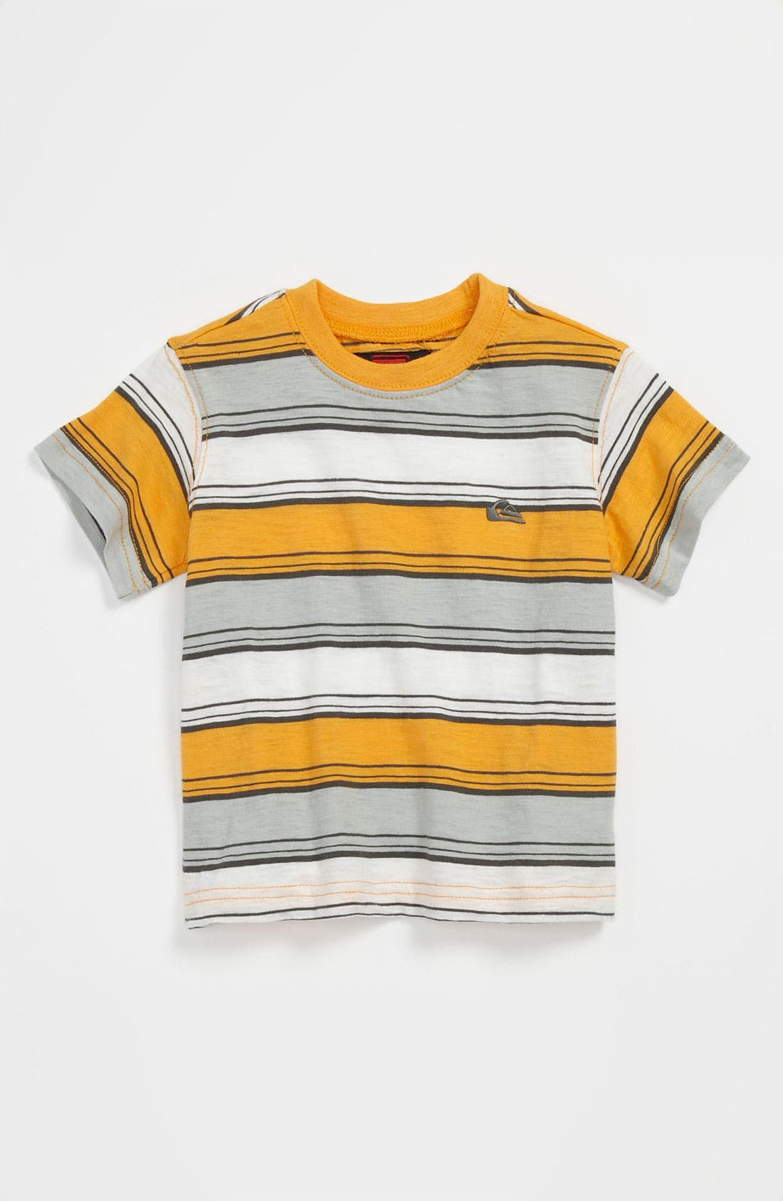 Alternate Image 1 Selected - Quiksilver 'Downside' Stripe Shirt (Baby)