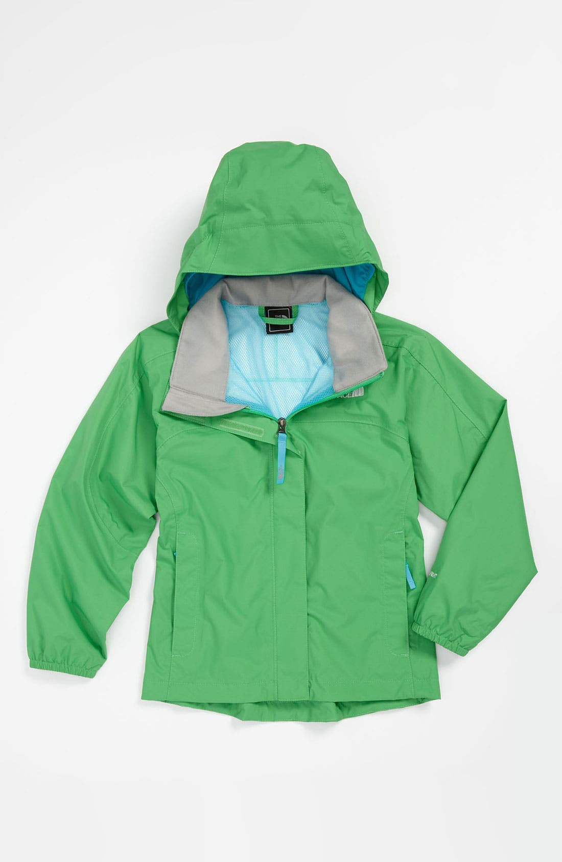 Alternate Image 1 Selected - The North Face 'Resolve' Rain Jacket (Little Girls & Big Girls)