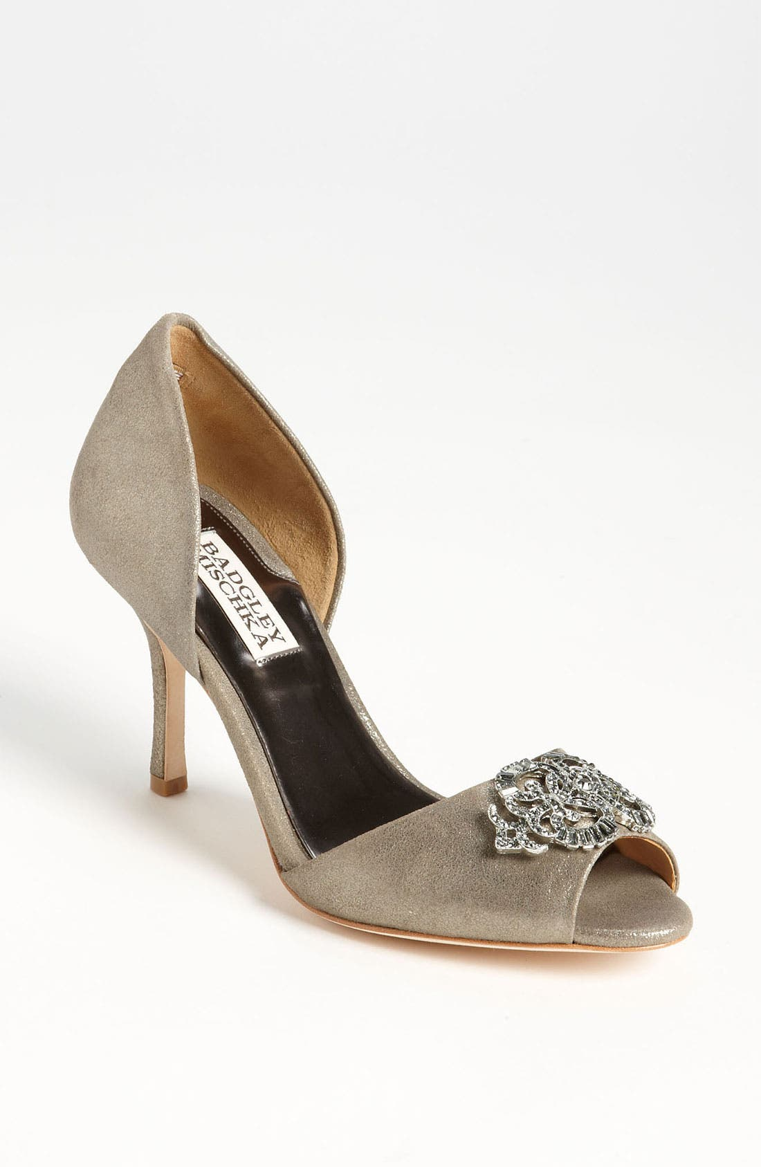 Alternate Image 1 Selected - Badgley Mischka 'Salsa' Pump