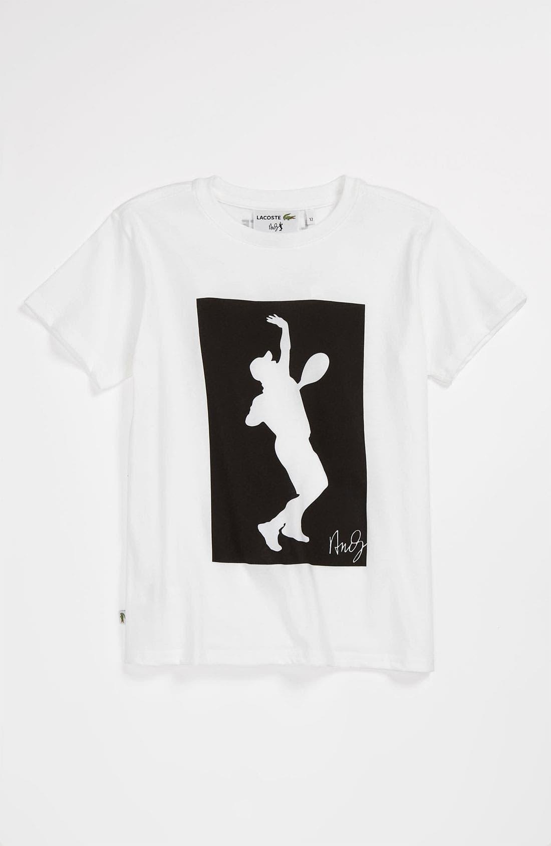 Alternate Image 1 Selected - Lacoste 'Andy Roddick' T-Shirt (Big Boys)