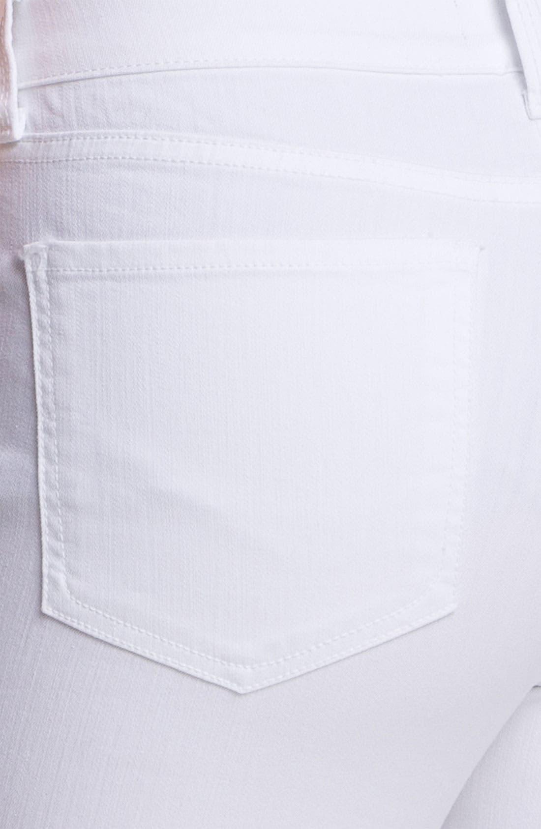 Alternate Image 3  - NYDJ 'Fiona' Roll Cuff Crop Stretch Jeans