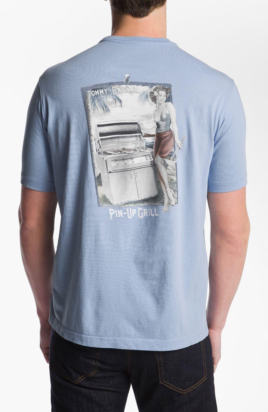 Main Image - Tommy Bahama 'Pin-Up Grill' T-Shirt