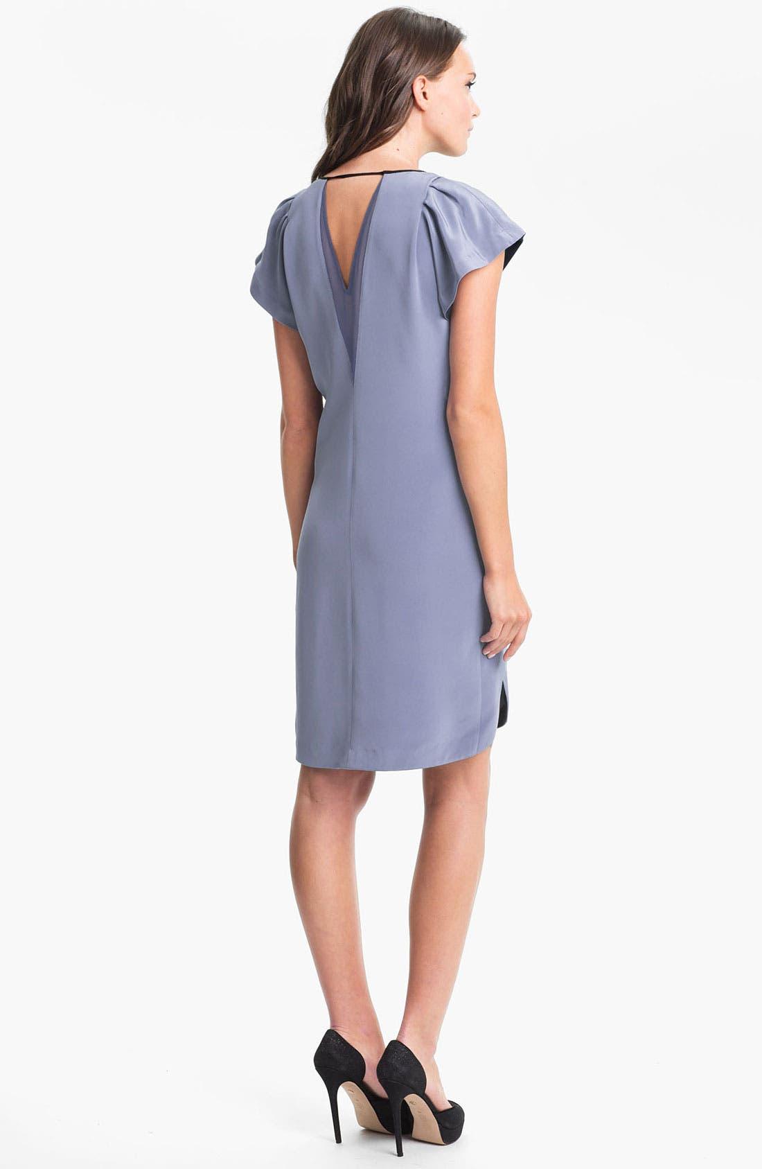 Alternate Image 2  - Rebecca Taylor Silk Shift Dress