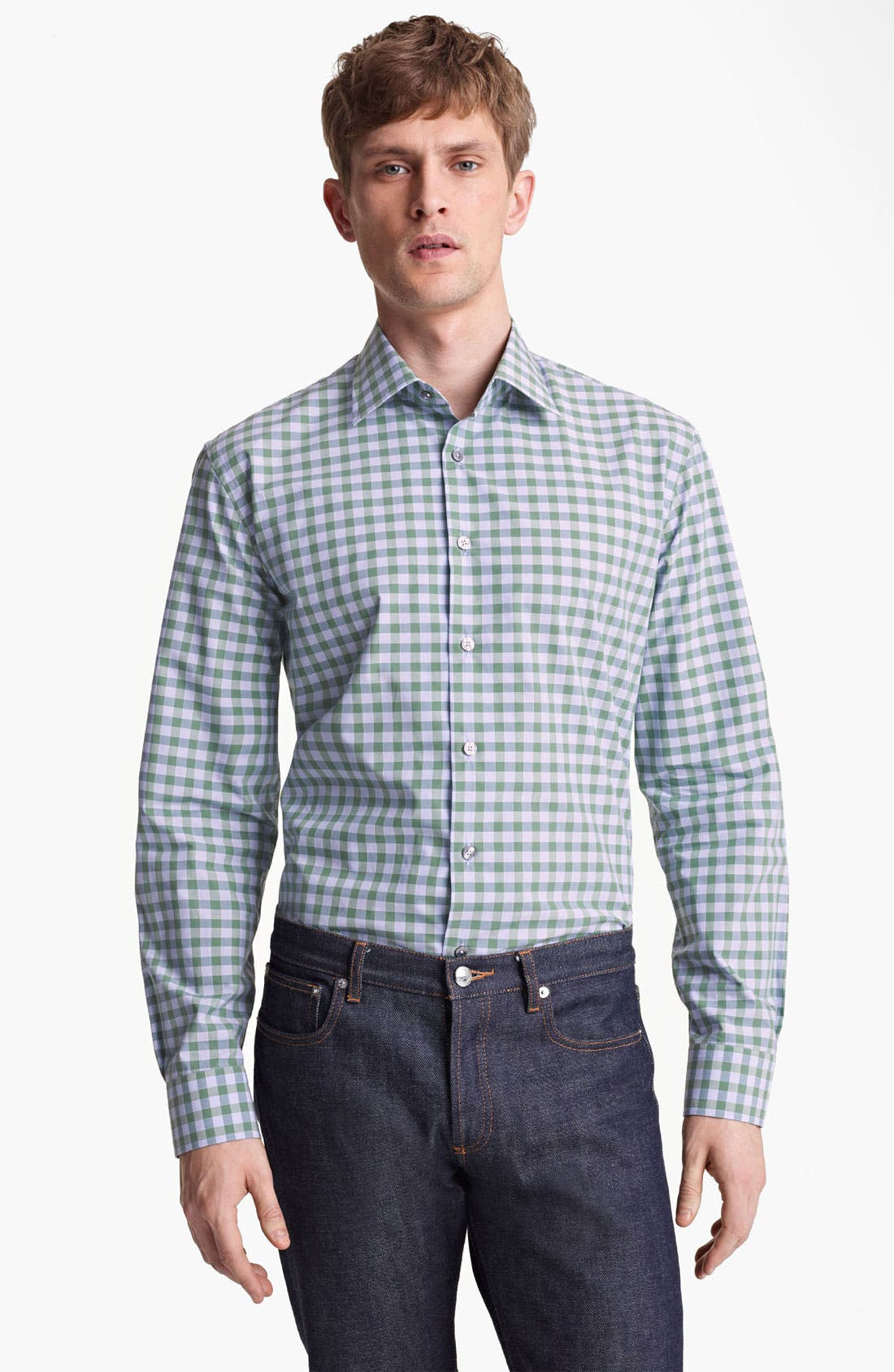 Alternate Image 1 Selected - Paul Smith London Classic Gingham Shirt