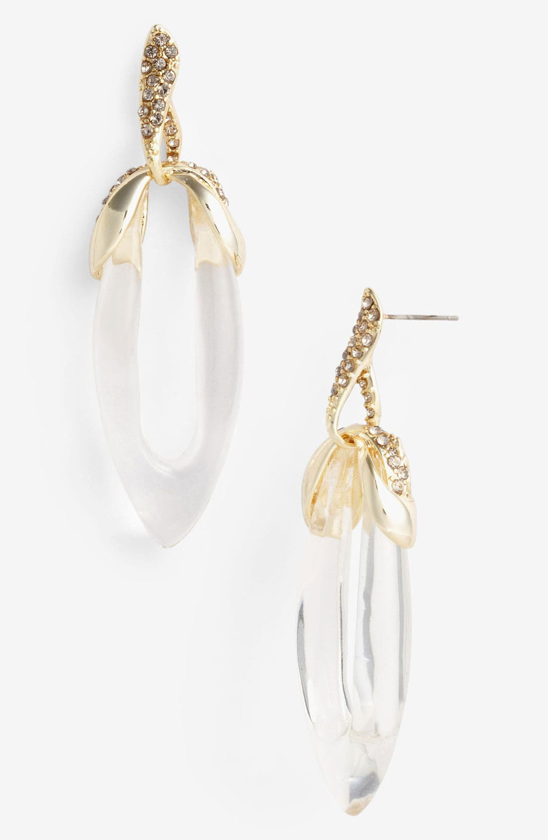 Alternate Image 1 Selected - Alexis Bittar 'Mod' Crystal Twined Drop Earrings