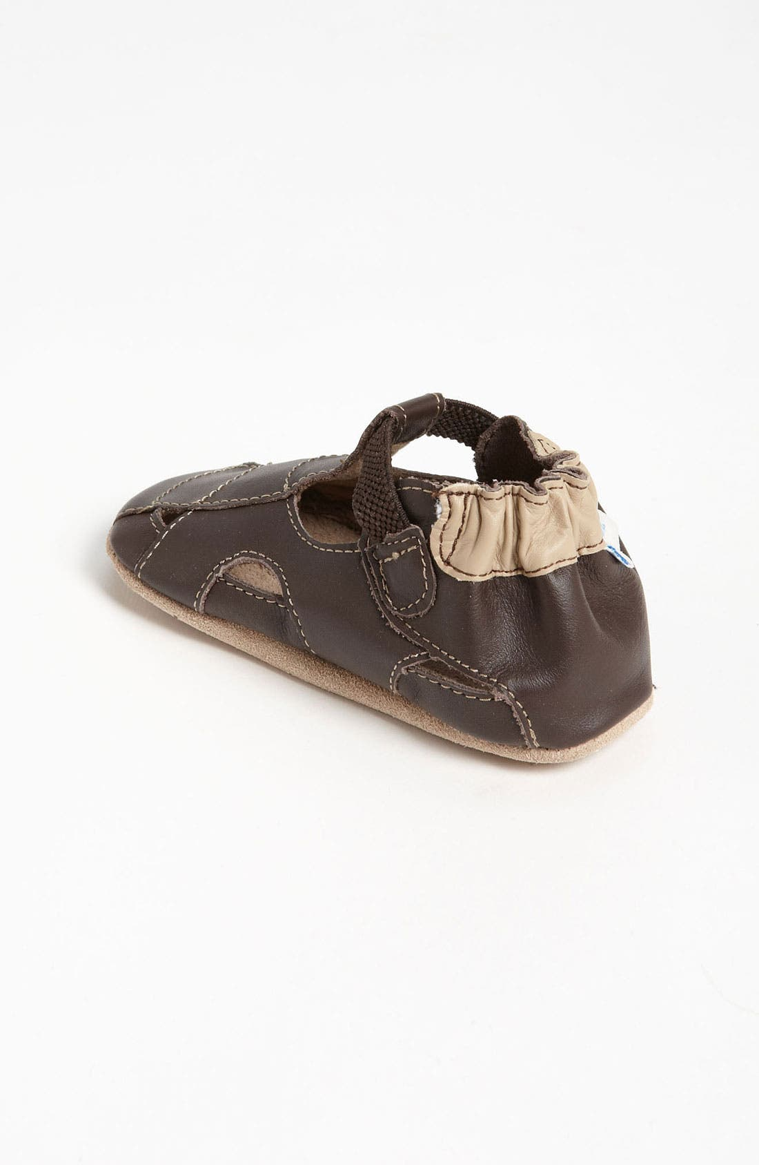 Alternate Image 2  - Robeez® Fisherman Sandal (Baby & Walker)