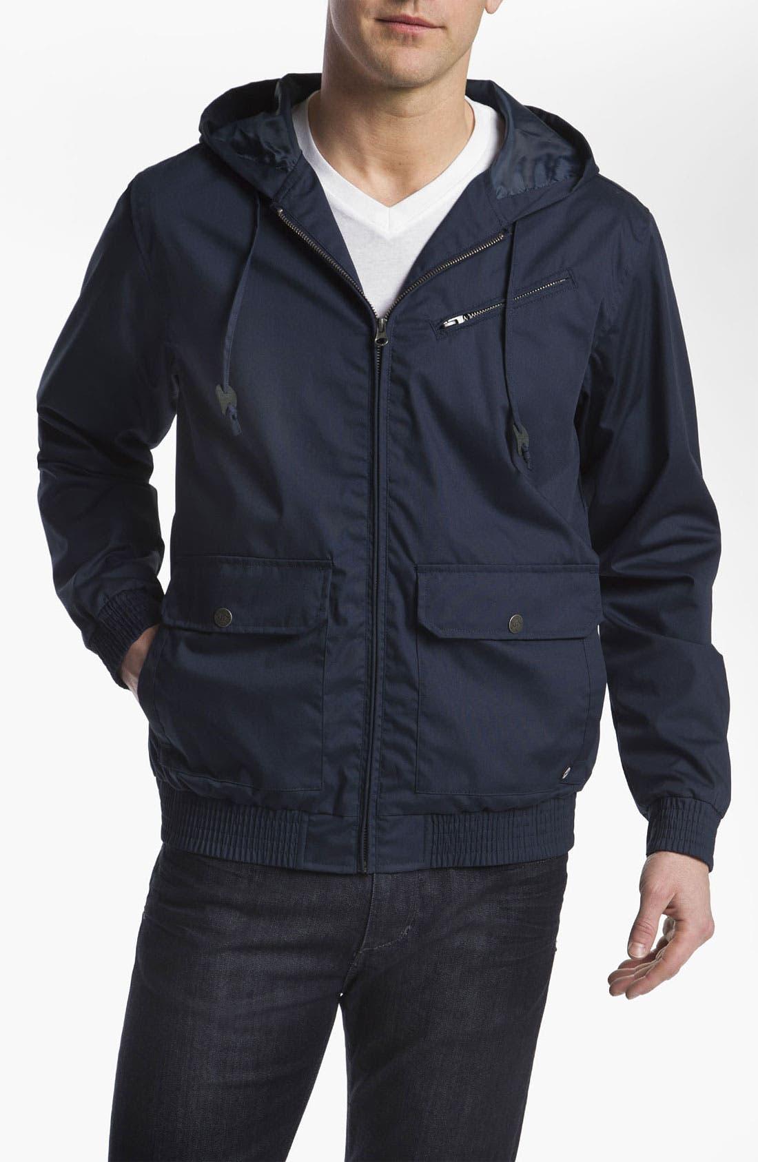 Alternate Image 1 Selected - RVCA 'Sil II' Hooded Jacket