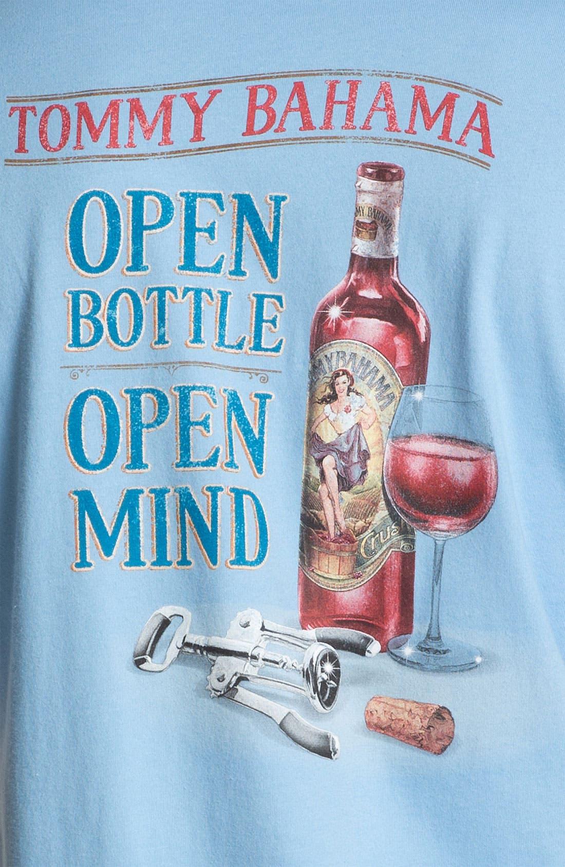 Alternate Image 3  - Tommy Bahama 'Open Bottle, Open Mind' T-Shirt