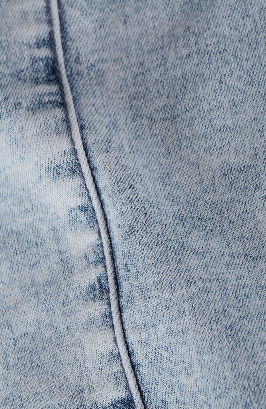 Alternate Image 3  - Topshop Moto 'Joni' Denim Skirt