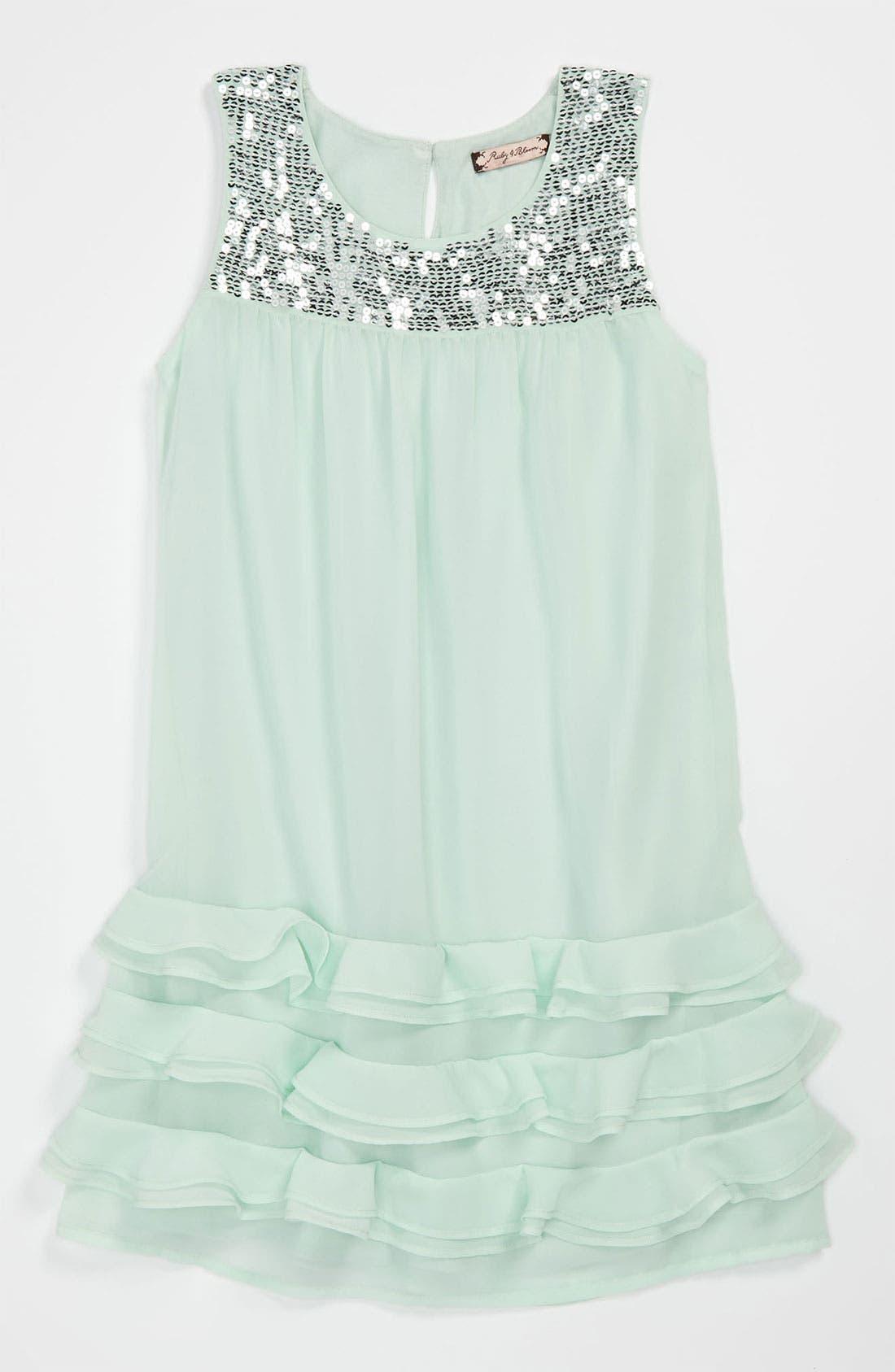 Main Image - Ruby & Bloom 'Sabrina' Dress (Little Girls & Big Girls)