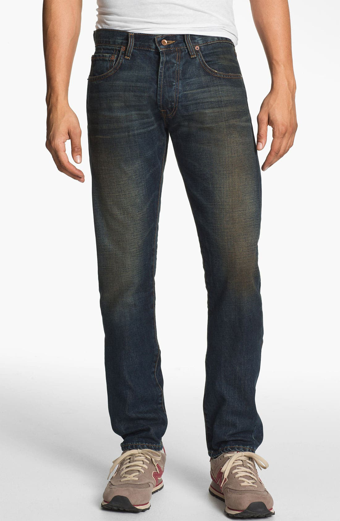 Alternate Image 2  - Baldwin 'Henley' Slim Tapered Leg Selvedge Jeans (Joshua)