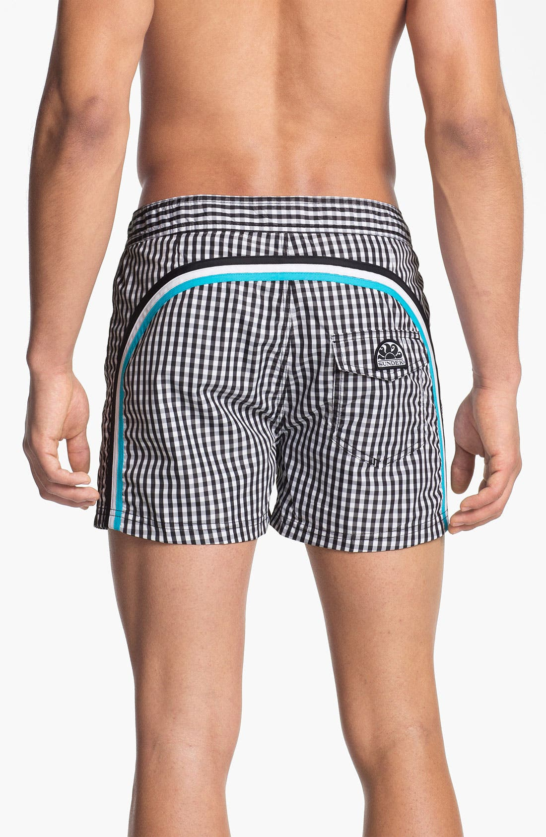Alternate Image 1 Selected - Sundek 'Vichy' Board Shorts