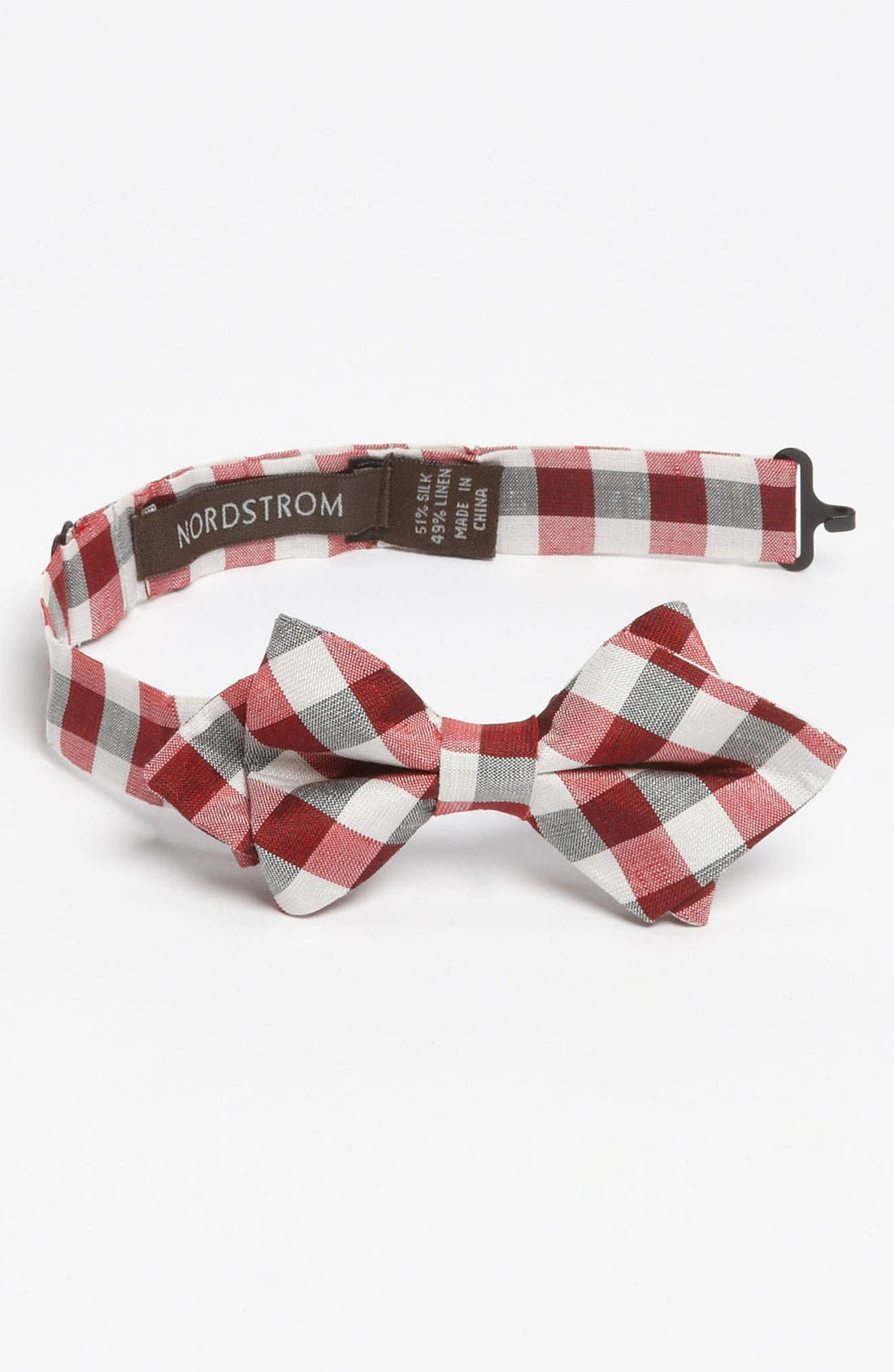 Main Image - Nordstrom Gingham Bow Tie (Little Boys)