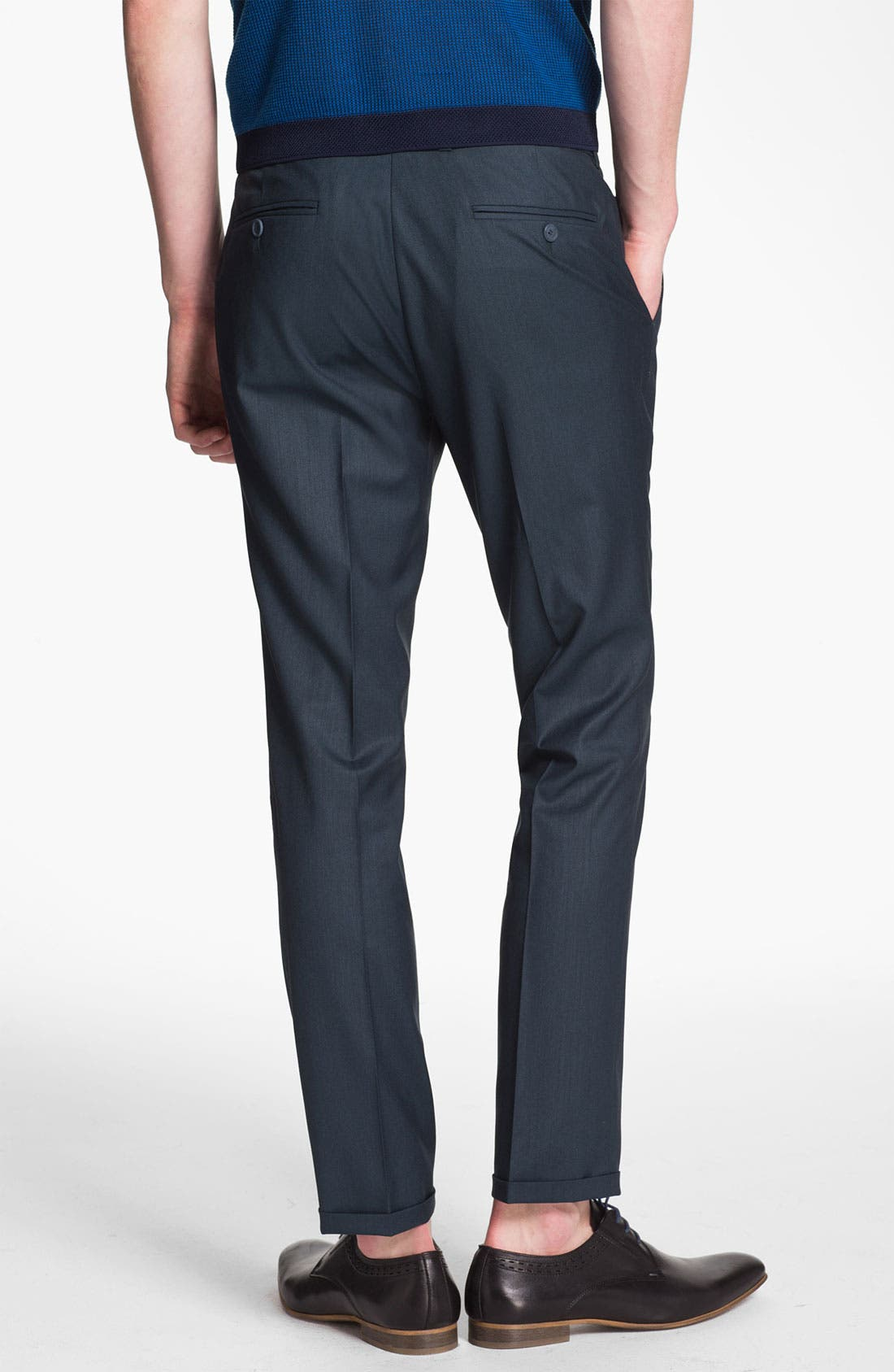 Alternate Image 2  - Topman Ultra Skinny Fit Trousers