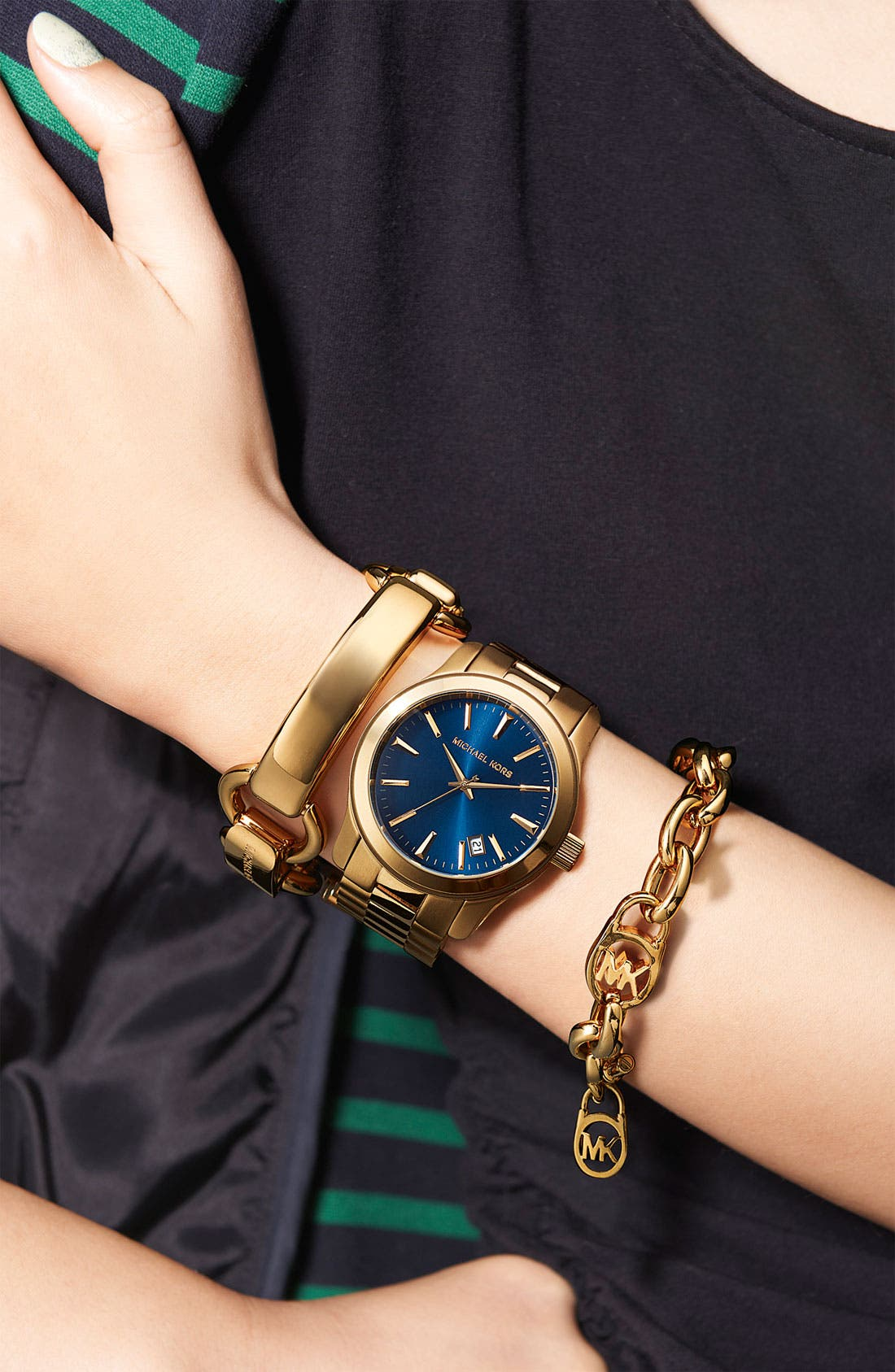 Alternate Image 2  - Michael Kors 'Equestrian Luxury' Link Bracelet