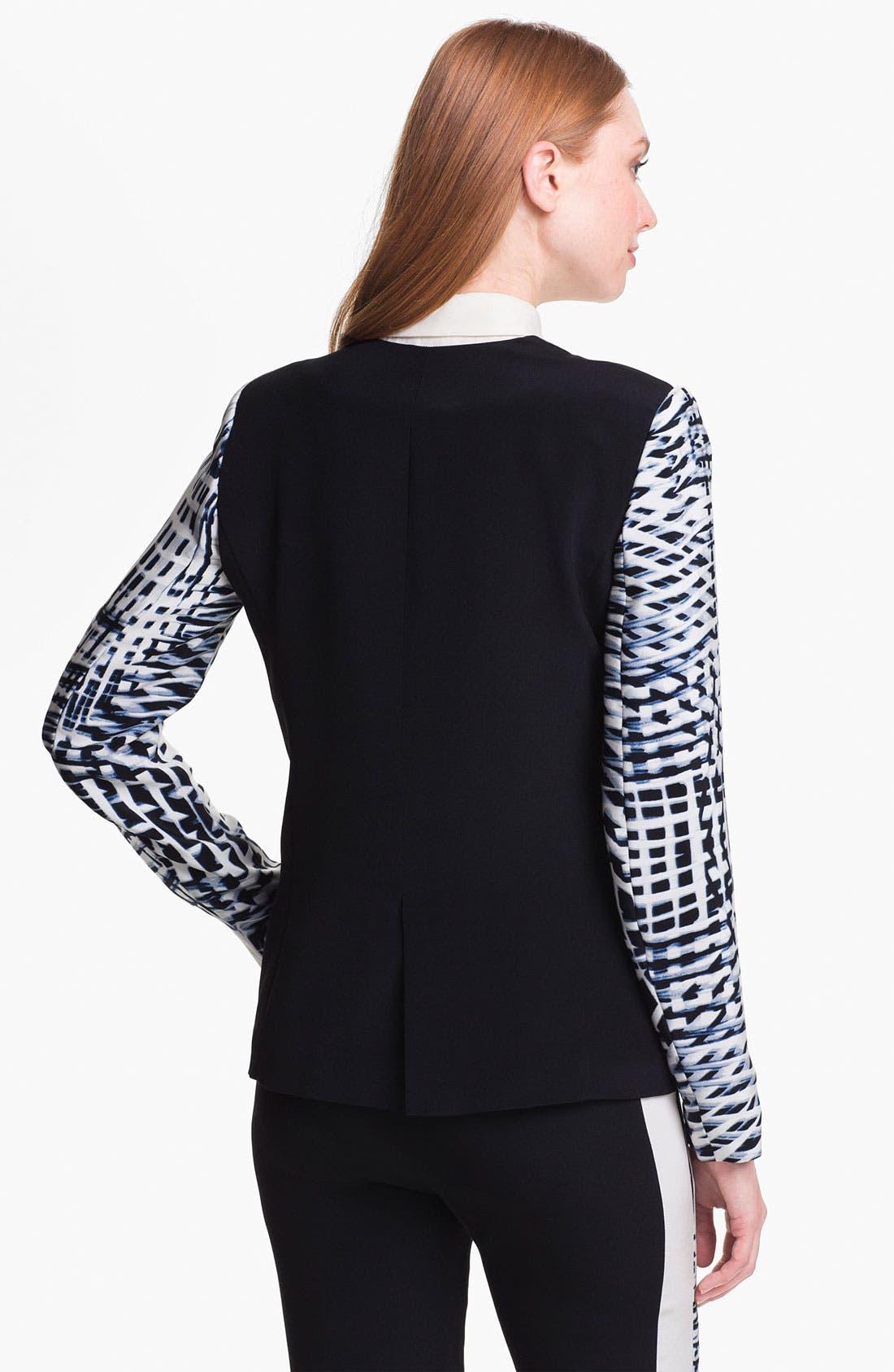 Alternate Image 2  - Parker 'Reef' Silk Blazer