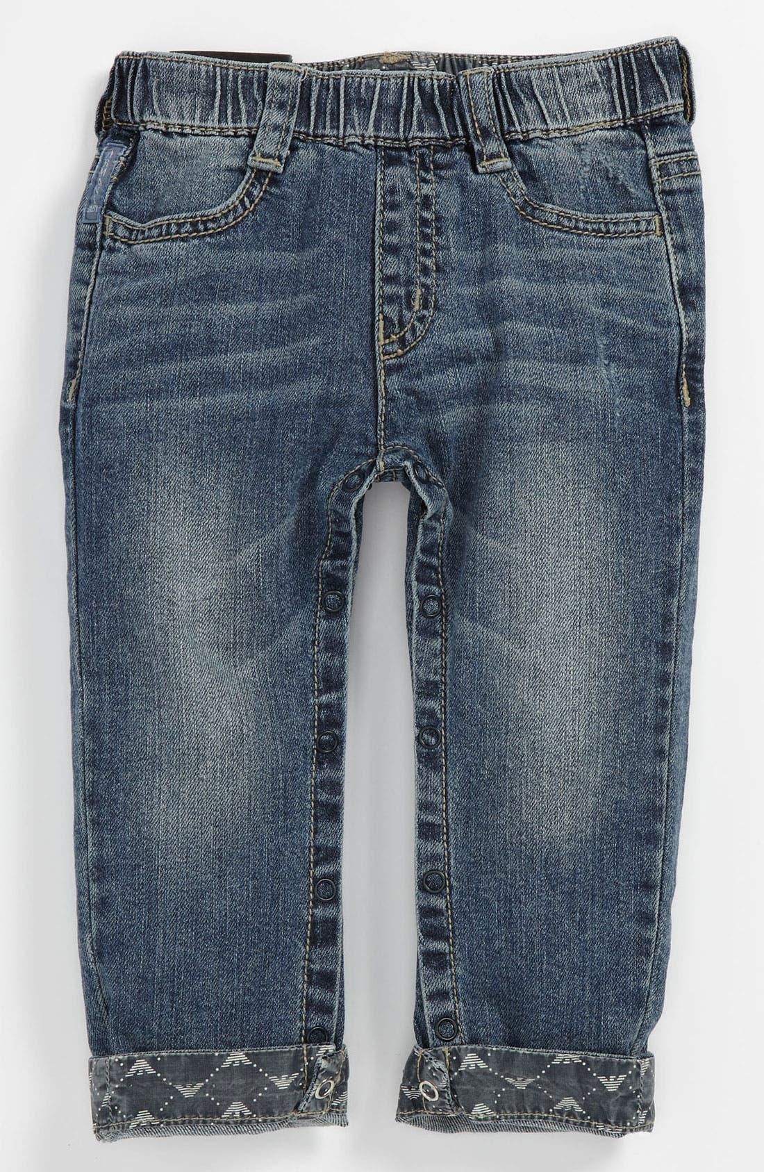 Alternate Image 2  - Armani Junior Jeans (Baby)