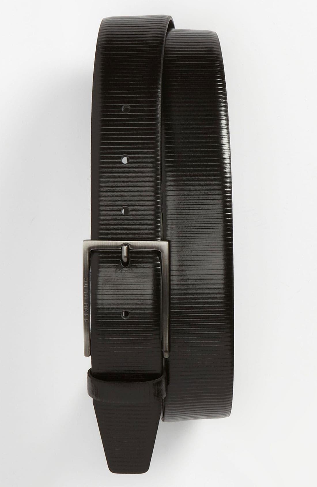 Alternate Image 1 Selected - BOSS HUGO BOSS 'Caberto' Belt