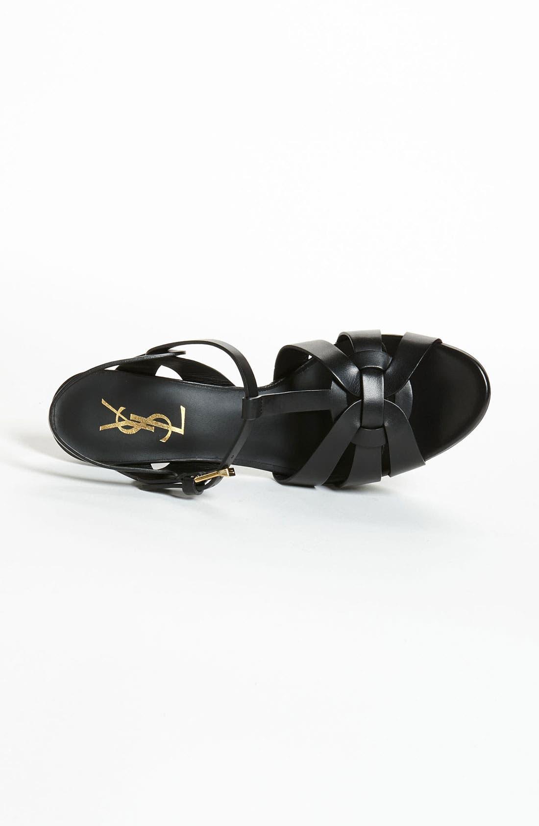 Alternate Image 3  - Saint Laurent 'Tribute' T-Strap Sandal