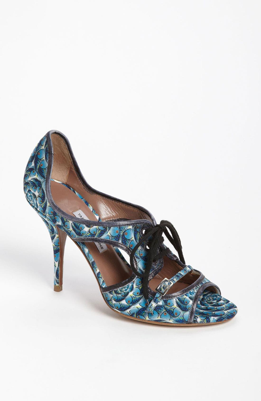 Alternate Image 1 Selected - Tabitha Simmons 'Bertie' Cutout Fish Print Sandal