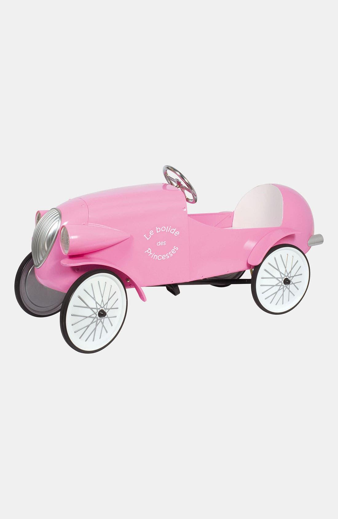 Alternate Image 1 Selected - Baghera 'Le Mans' Pedal Car (Toddler Girls)