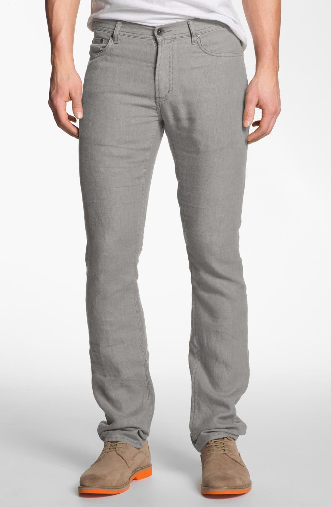 Main Image - John Varvatos Star USA Linen Pants