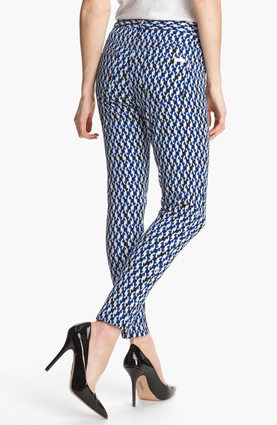 Alternate Image 2  - DKNYC Skinny Ankle Jeans