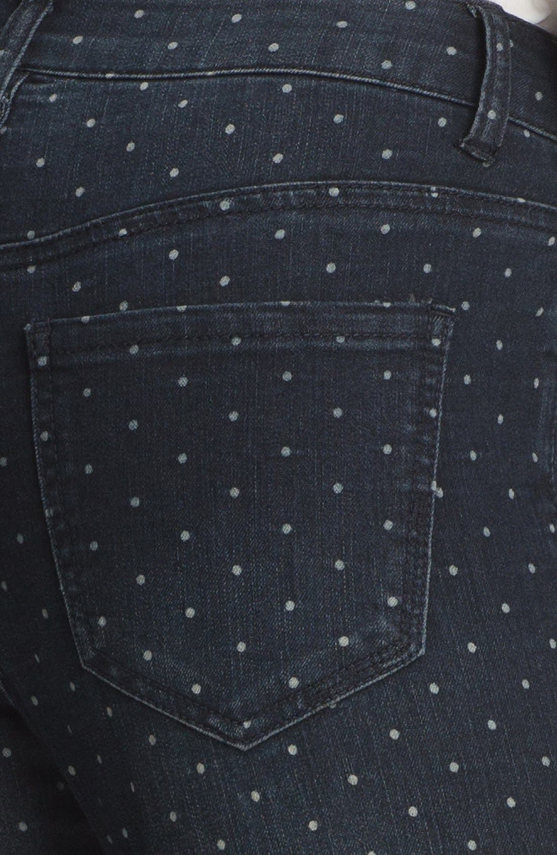 Alternate Image 4  - Liverpool Jeans Company 'Abby' Print Skinny Ankle Jeans