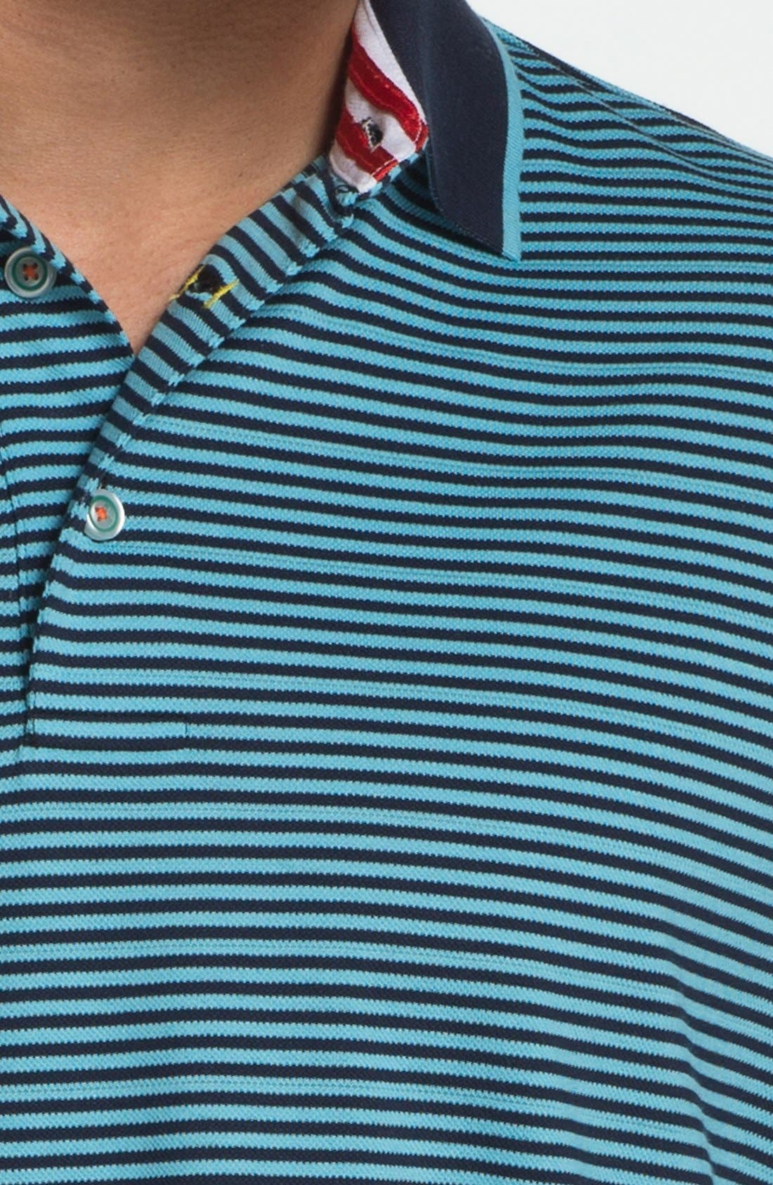 Alternate Image 3  - Robert Graham 'Barcelo' Knit Polo