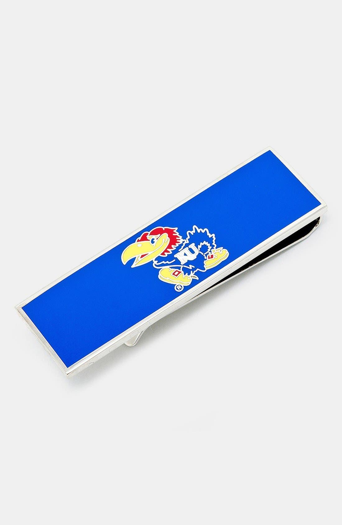 Main Image - Cufflinks, Inc. 'University of Kansas Jayhawks' Money Clip