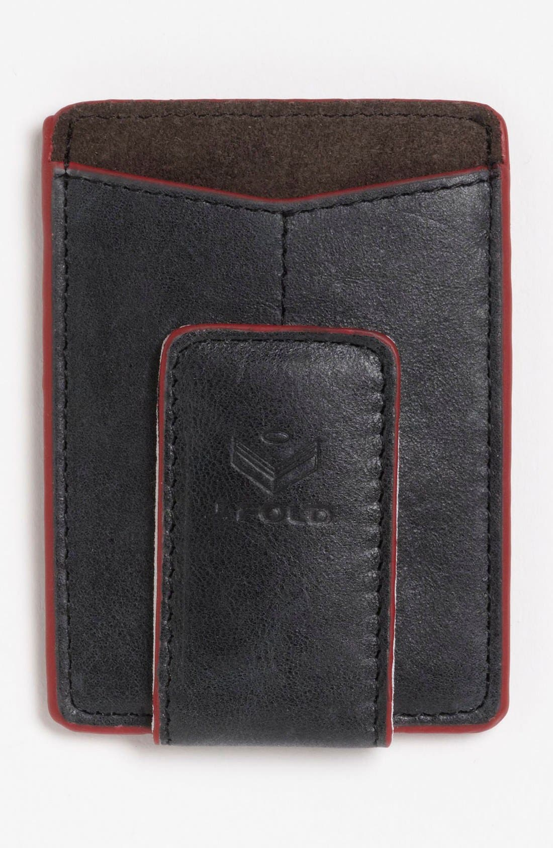 Main Image - J. Fold 'Smokestack' Money Clip Wallet