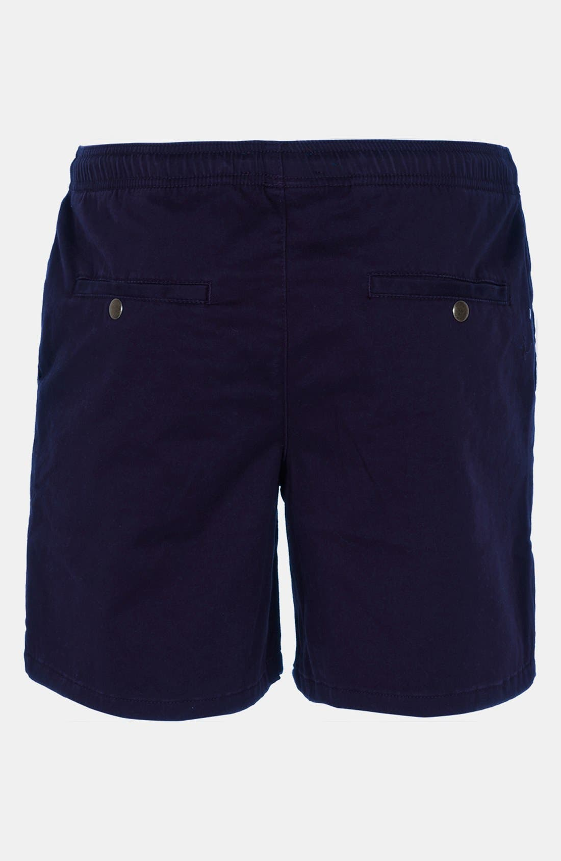 Alternate Image 2  - Topman Sophomore Rugby Shorts