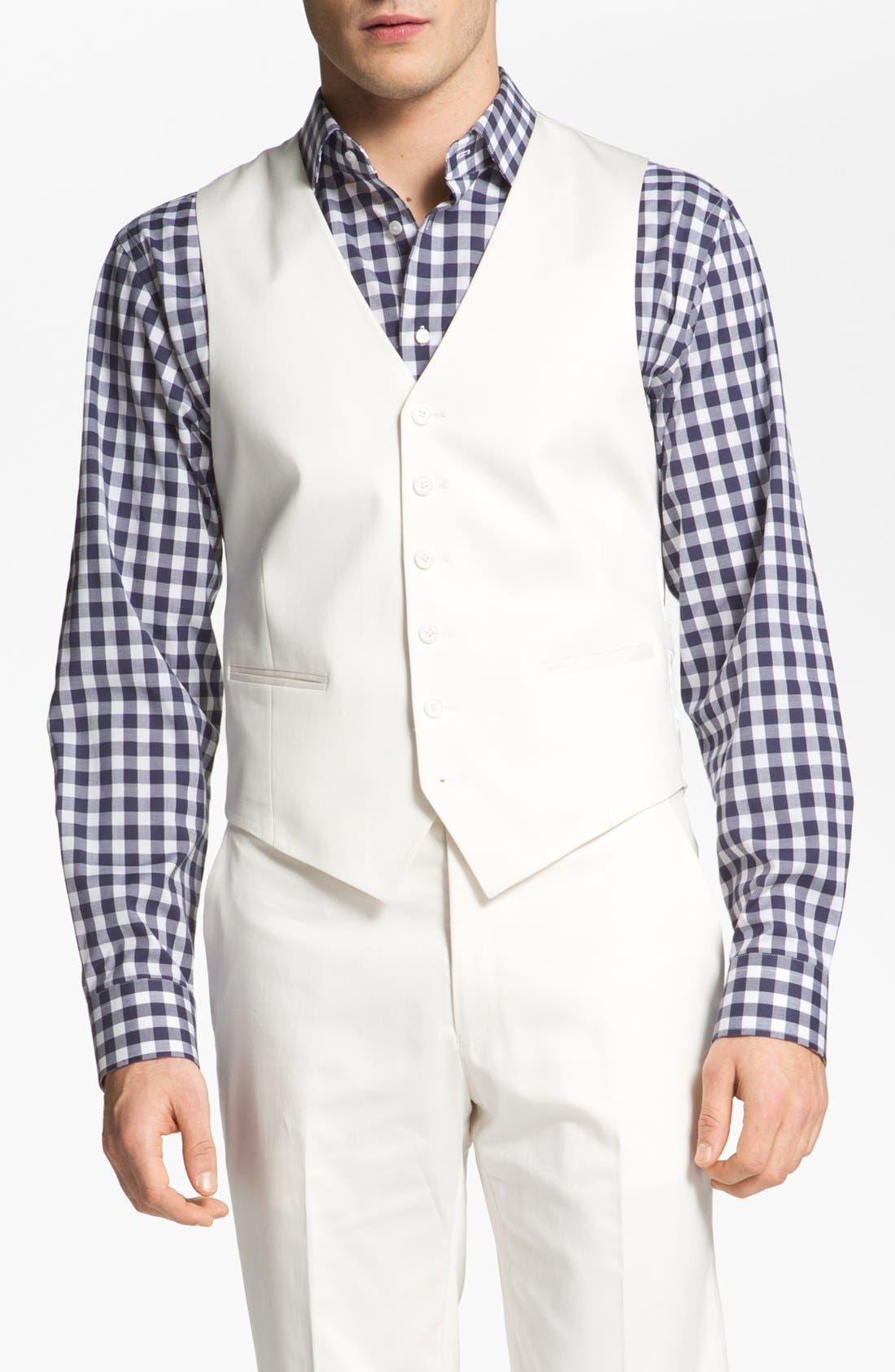 Alternate Image 1 Selected - John Varvatos Star USA 'Gibson' Vest