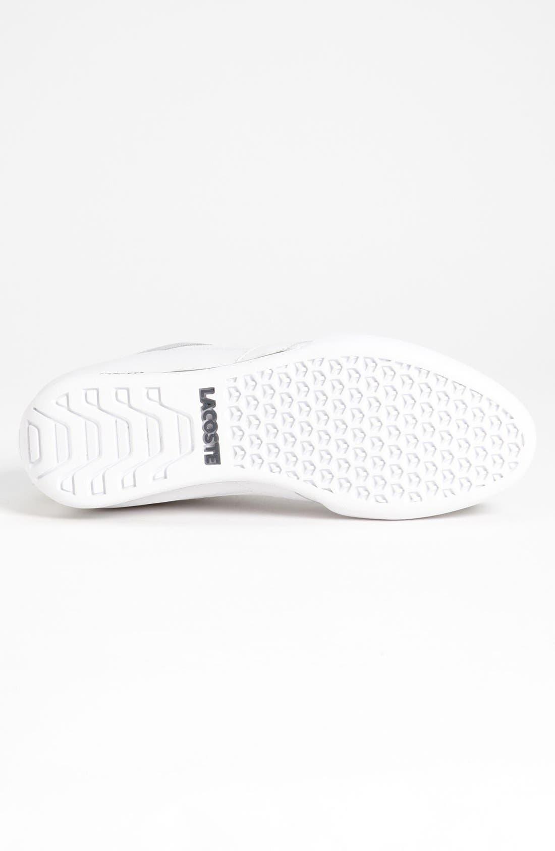 Alternate Image 4  - Lacoste 'Telesio CRE' Sneaker