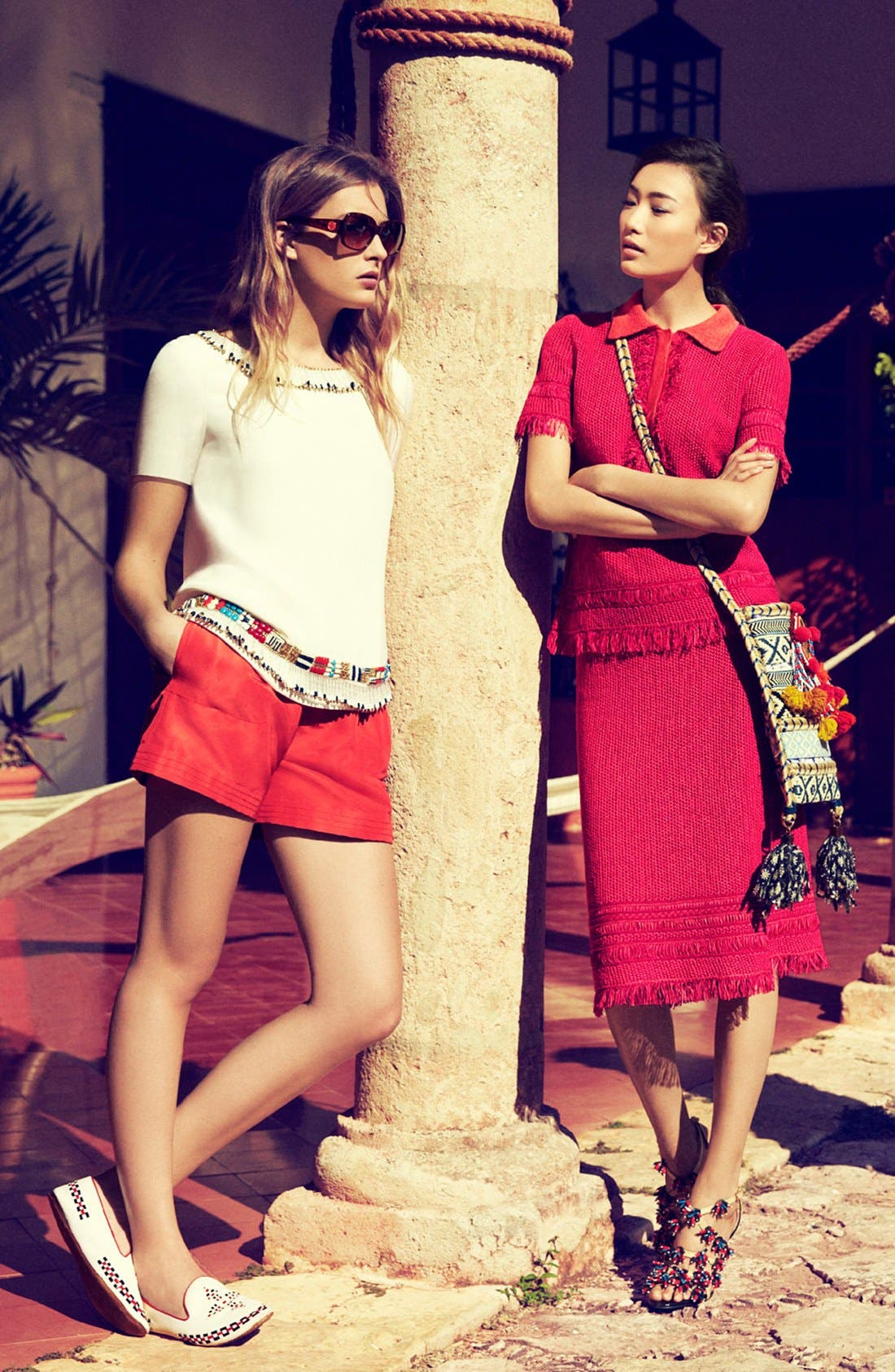 Alternate Image 1 Selected - Tory Burch Shorts Outfit & Skirt Outfit