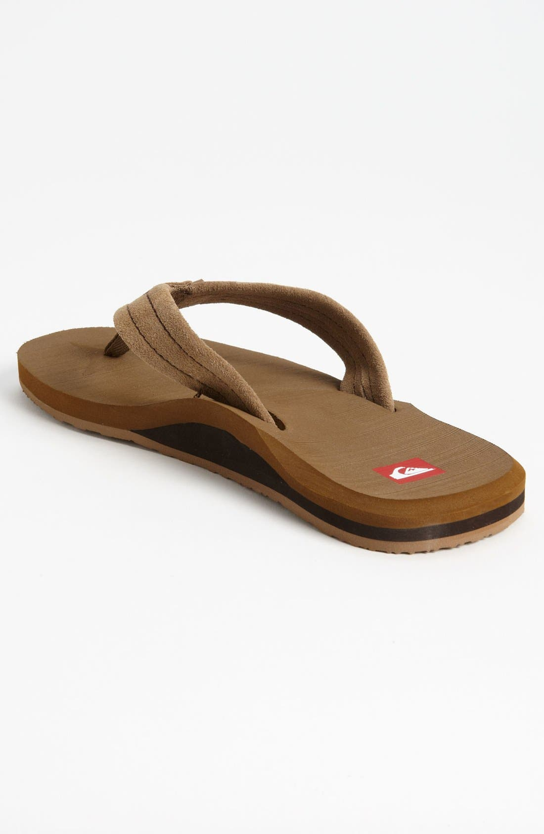 Alternate Image 2  - Quiksilver 'Carver 2' Flip Flop (Men)