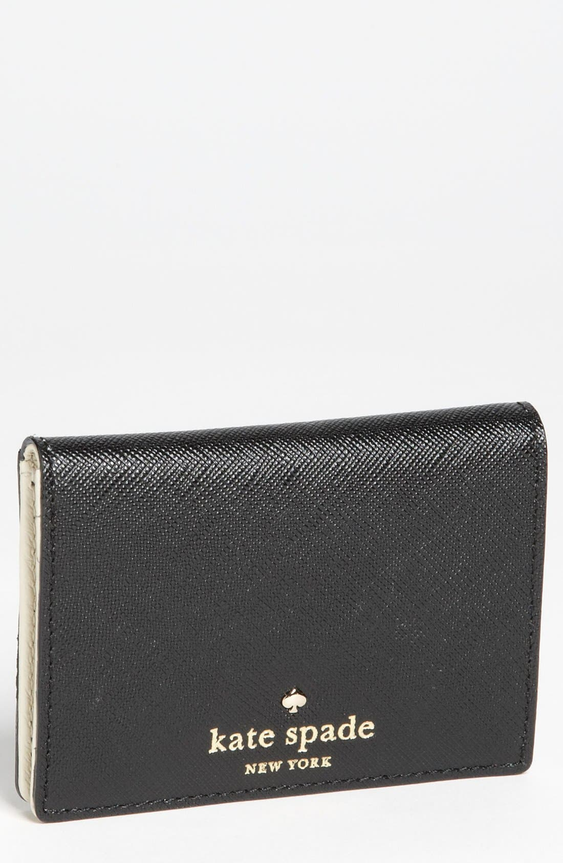 Main Image - kate spade new york 'mikas pond - meaghan' card wallet