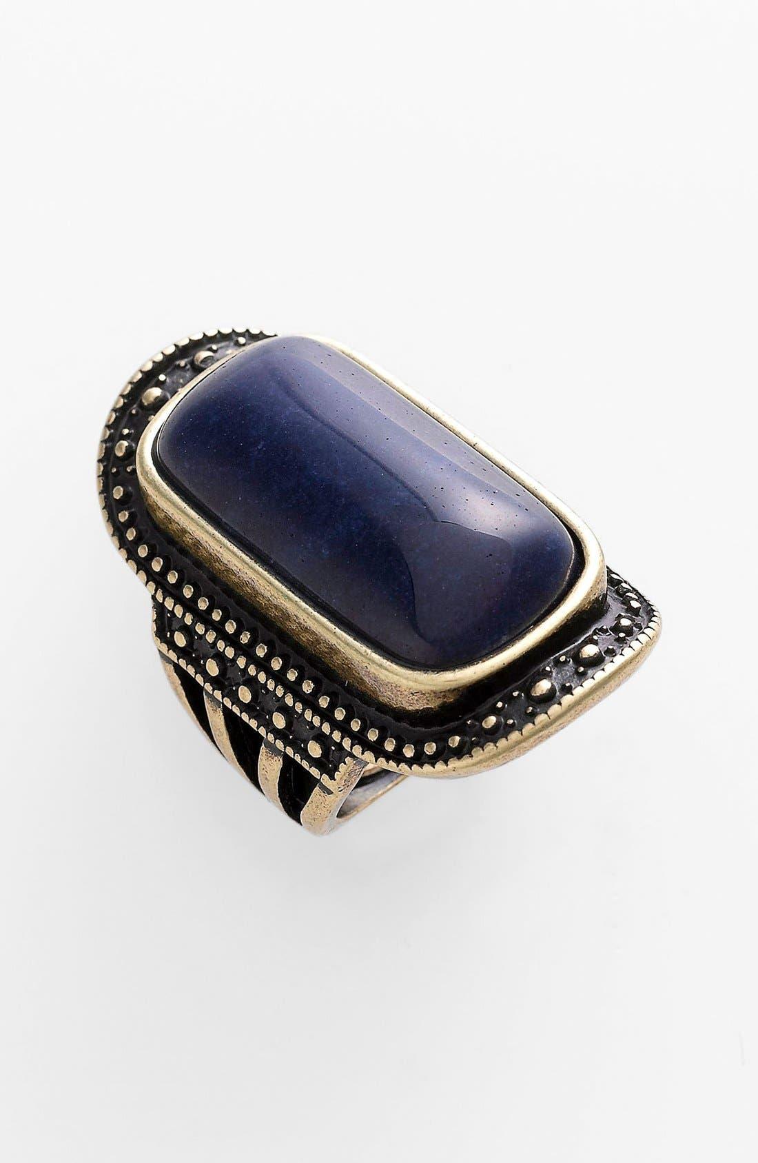 Alternate Image 1 Selected - Spring Street Oblong Stone Ring