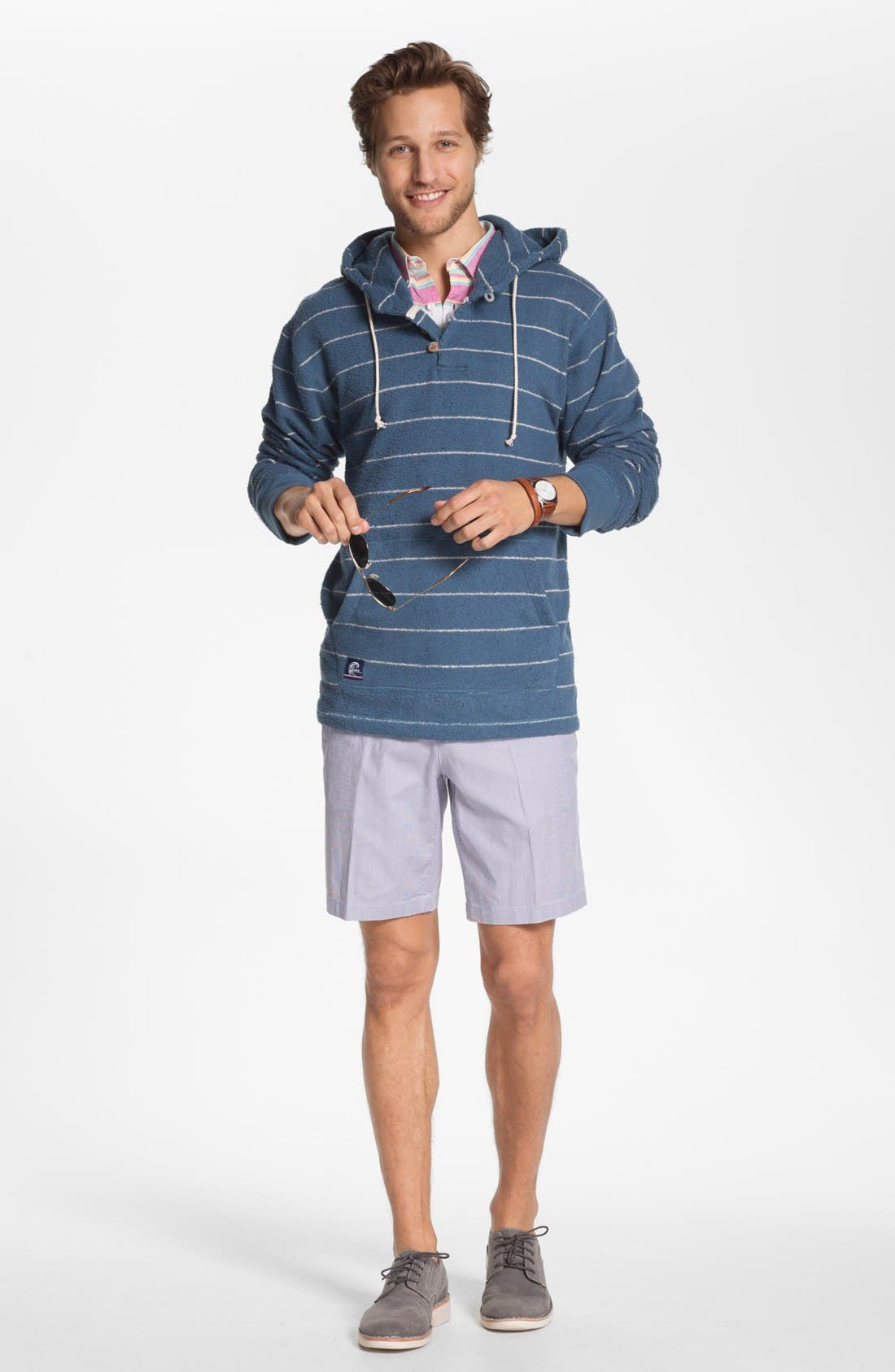 Alternate Image 4  - French Connection Short Sleeve Linen Sport Shirt