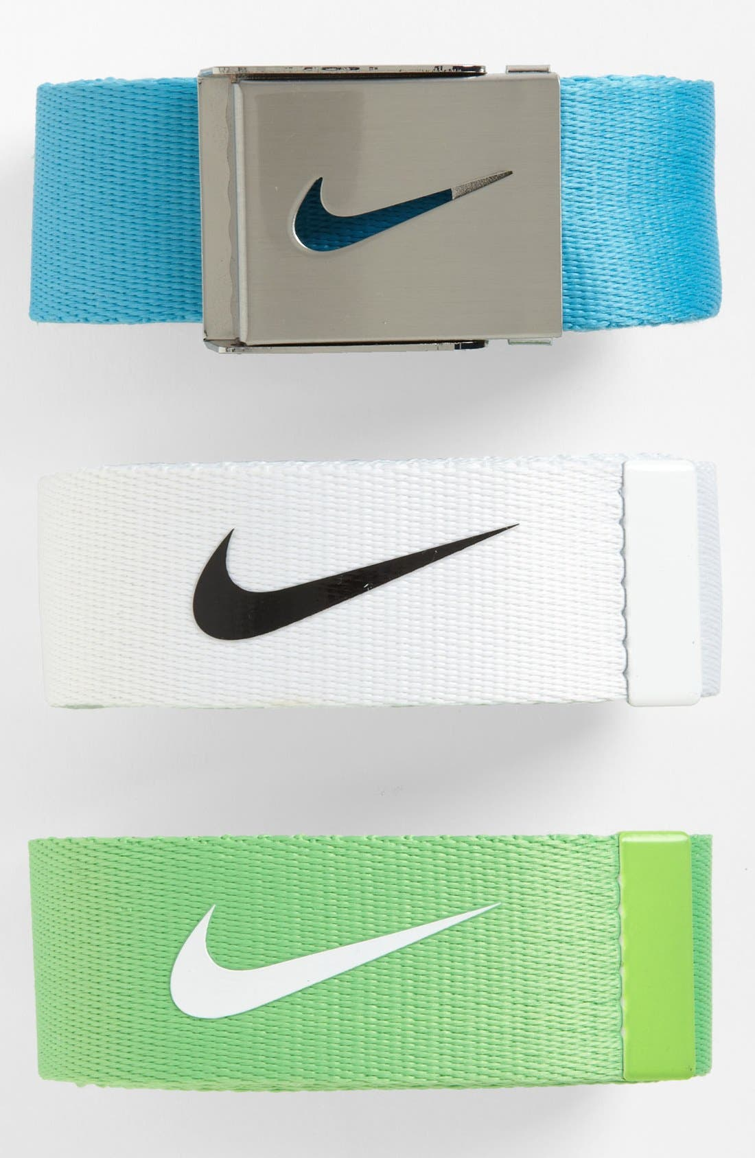 Alternate Image 2  - Nike 'Tech Essentials' Web Belt (3-Pack)