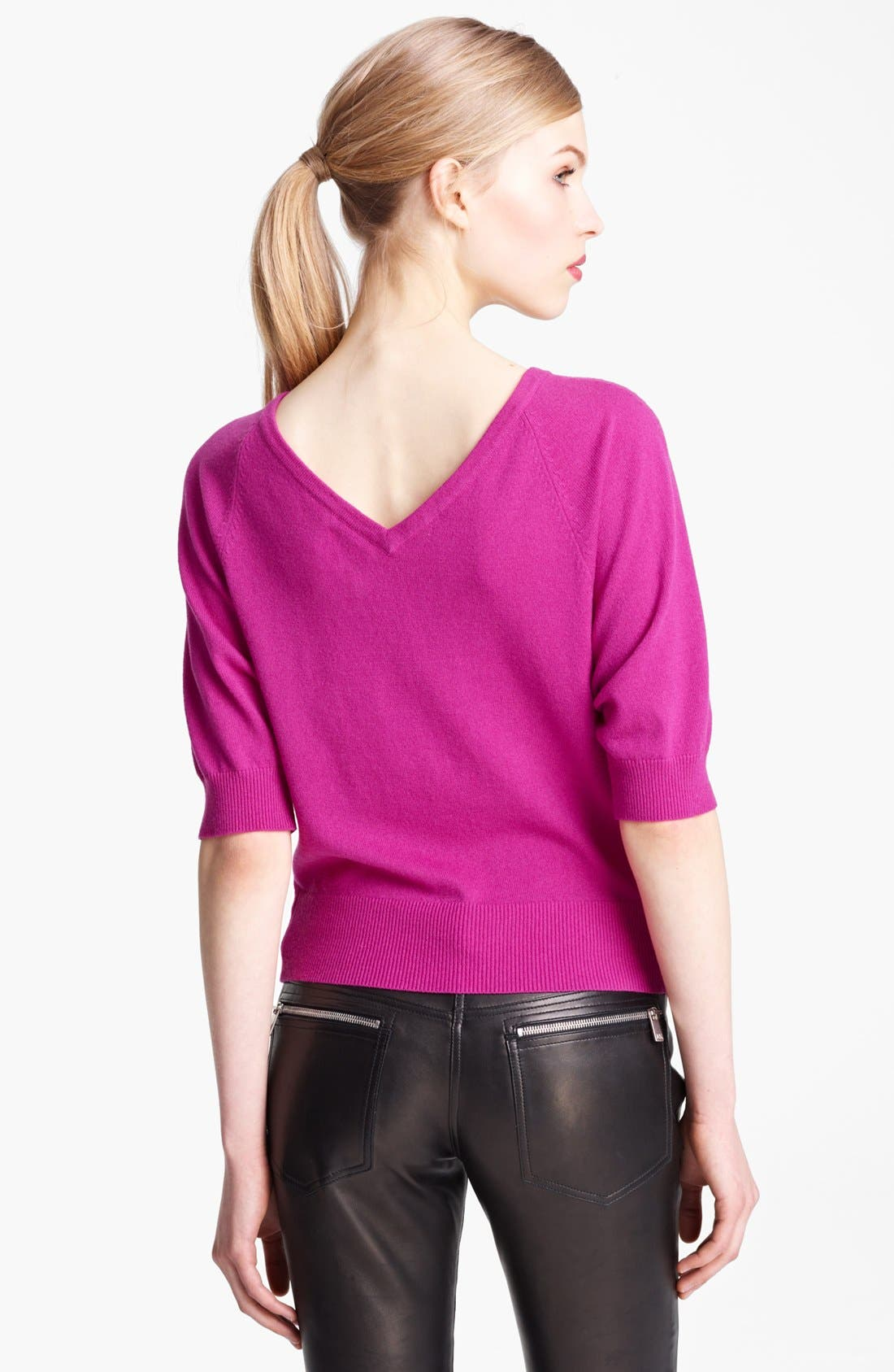 Alternate Image 2  - Michael Kors Cashmere Sweater
