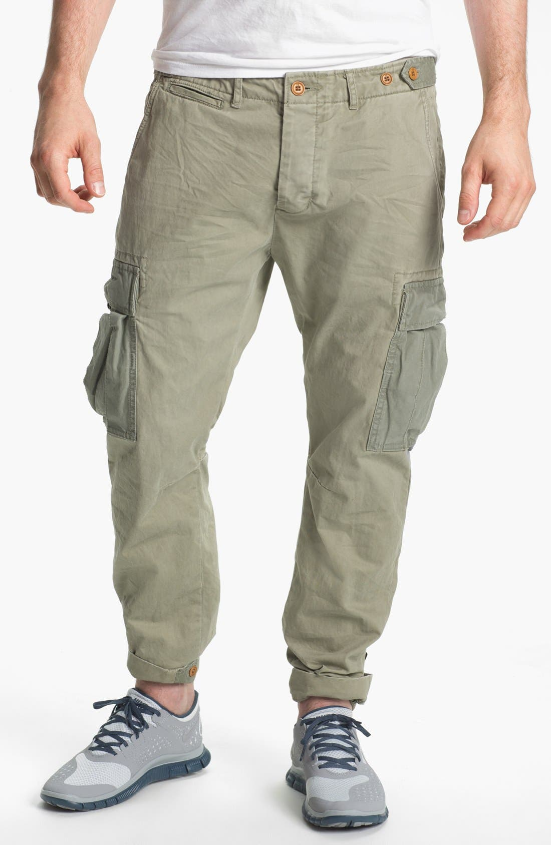 Main Image - Scotch & Soda 'Cobain' Slim Tapered Leg Cargo Pants
